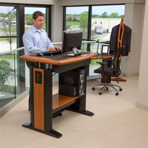 stand up desk standing desk workstation costco stand up desk type 32