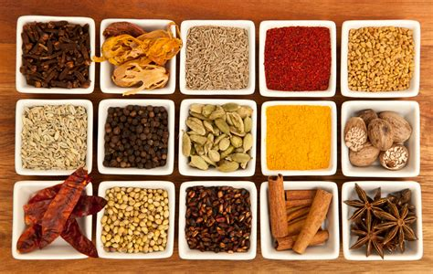 indian spices names in