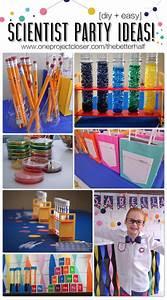 Fabulous Scientist Party Ideas One Project Closer