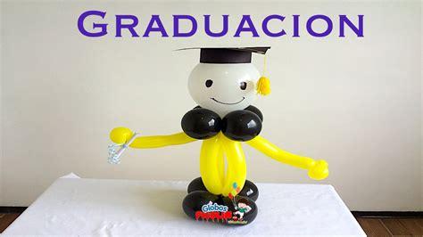 centro de mesa para graduaci 243 n con globos facil 237 simo 45