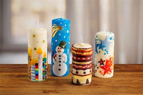 Mit Kerzen Dekorieren by Kerzen Weihnachtlich Verzieren Familie De