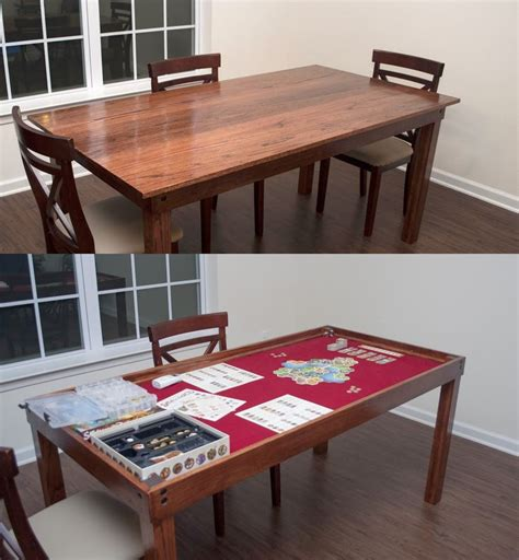 Diy Gaming & Dining Room Table!  Game Room Ideas Pinterest