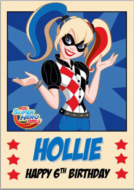 Harley Quinn Bday Invitation Templates
