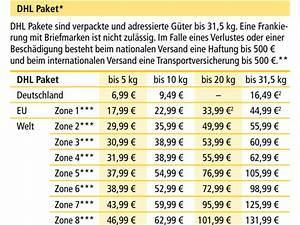 Porto Für Pakete : paket preise dhl portokosten pdf download chip ~ Eleganceandgraceweddings.com Haus und Dekorationen
