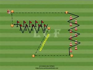 circuito fisico tecnico football coaching drills soccer
