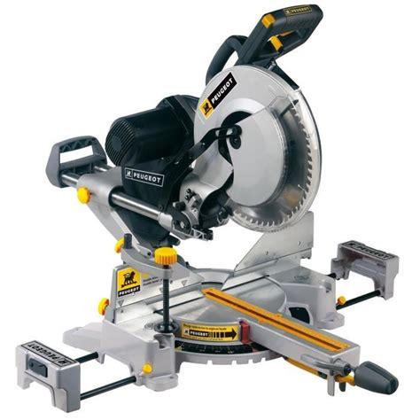 peugeot scie 224 onglet radiale energysaw 305mm 1600w achat vente scie 233 lectrique acier