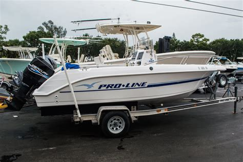 Used Proline Boats by Used 1999 Pro Line 190 Cc Center Console Boat For Sale In