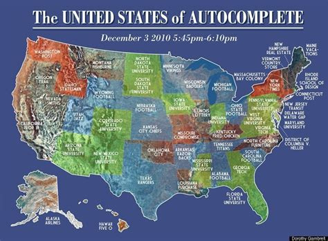 google instant map shows  united states