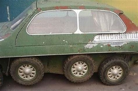 8-wheels Car From Russia (5 Pics