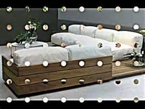 sofa aus paletten bauen paletten möbel sofa mit integrierten regalen