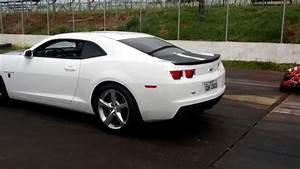 Camaro Ss Branco Fritando Pneu Em Franca Speed Park