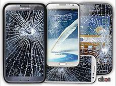 Broken Phone Screen Wallpaper WallpaperSafari