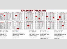 Kalender 2019 Bank Indonesia – Home Sweet Home