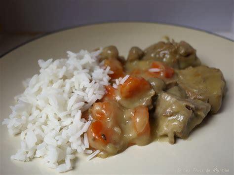 veau cuisine la cuisine de myrtille blanquette de veau aux carottes et