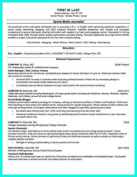 cool sample  college graduate resume   experience