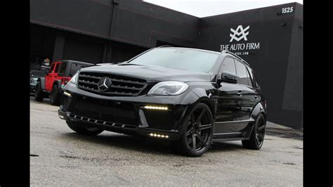 mercedes benz top car inferno wide body ml