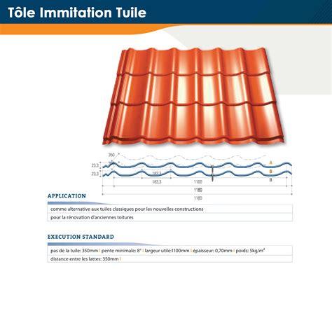 Dimension Tuile by Tole Imitation Tuile Dimension