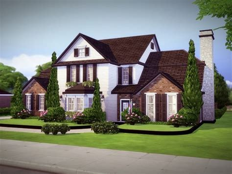Monridge house by melcastro91 at TSR • Sims 4 Updates