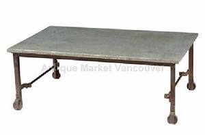 indian furniture antiques direct worldwide wholesale With galvanized top coffee table