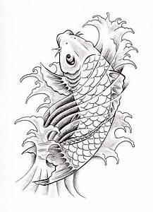 koi-fish-drawing-best-tattoo-design.jpg (578×800) | Koi ...