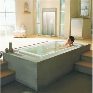 Baignoire Et Bulles : baignoire baln o d bordement sok jacob delafon ~ Premium-room.com Idées de Décoration