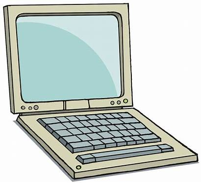 Laptop Clipart Computer Clip Cliparts Cartoon Transparent
