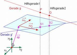 Schnitt Berechnen Punkte : projektion einer geraden in eine ebene parameterform ~ Themetempest.com Abrechnung