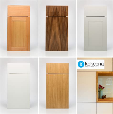 Pre Made Cabinet Doors Drawer Fronts kokeena real wood ready made cabinet doors for ikea