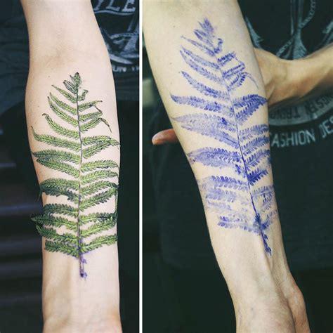 Les Tatouages Botaniques De Rit Kit Tattoosfr