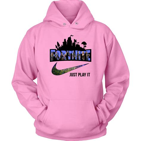 fortnite nike  play  logo shirts hoodie alottee