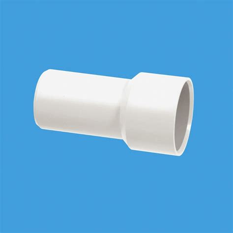 chrome waste fitting solvent weld adapter mm