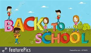 Education: Education Back To School Kids Cartoon