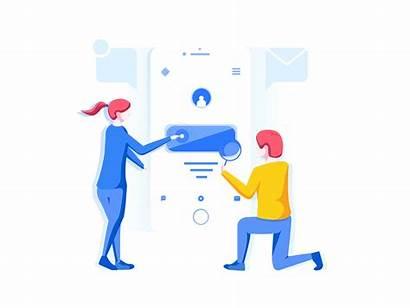 Teamwork Collaboration Illustrations Illustration Dribbble Vector User