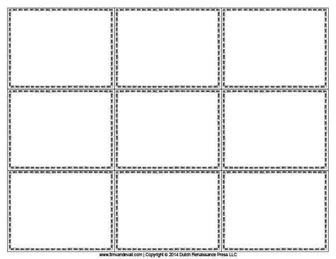 flashcard template docs blank flash card templates printable flash cards pdf format