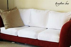 How to make a cushion cover and other slipcover tutorials for Sofa cushion covers how to make