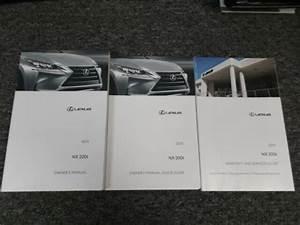 2015 Lexus Nx200t Nx 200t Owner Operator Maintenance User