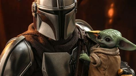 Baby Yoda and The Mandalorian Figure Set Unveiled by Hot Toys