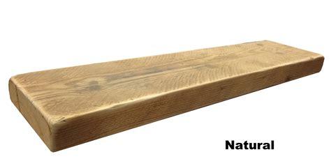 wood shelving reclaimed chunky floating shelf shelves wooden ebay