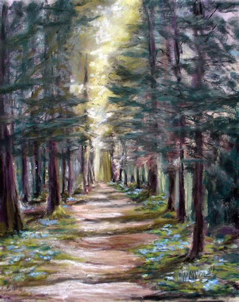 path to enlightenment painting by cathy weaver