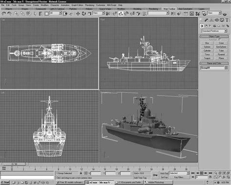 Navy Ships Design 3d Software Applications, (.3ds) 3d