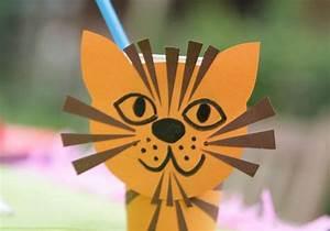 Basteln Mit Bechern : basteln mit kindern kostenlose bastelvorlage basteltipps f r den kindergeburtstag tiger ~ Frokenaadalensverden.com Haus und Dekorationen