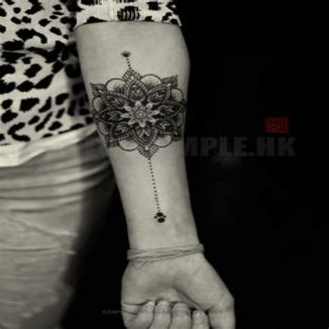 Tatouage Mandala Avant Bras Tatouage Tribal Hdtatouagecom