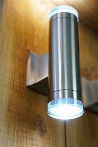 Crystal Wall Lantern Up Down Outdoor Indoor Wall Light