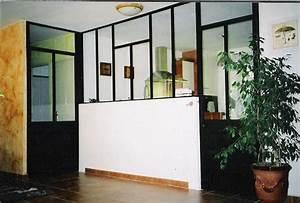 Verriere Interieure Metallique : menuiserie baies ~ Premium-room.com Idées de Décoration