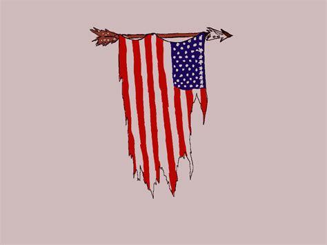 flag tattoos  shoulder
