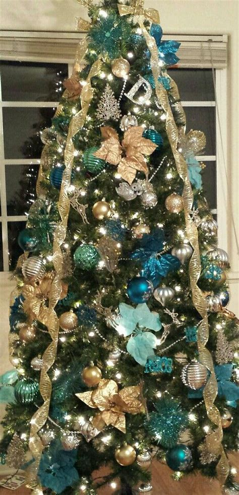 ideas  turquoise christmas  pinterest aqua