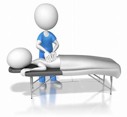 Massage Clipart Getting Therapeutic Patient Presentation Stick