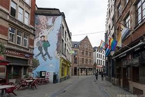 Les Fresques Bd Dans Les Rues De Bruxelles