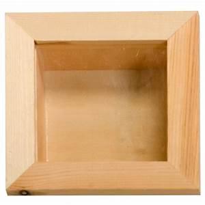Cadre Photo Profond : vitrine en bois 15 x 15 cm vitrine d corer creavea ~ Teatrodelosmanantiales.com Idées de Décoration