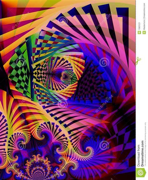 Bilder Kleben Gestreifte Kunst by Gestreifte Farben Abstrakte Kunst Stockbild Bild